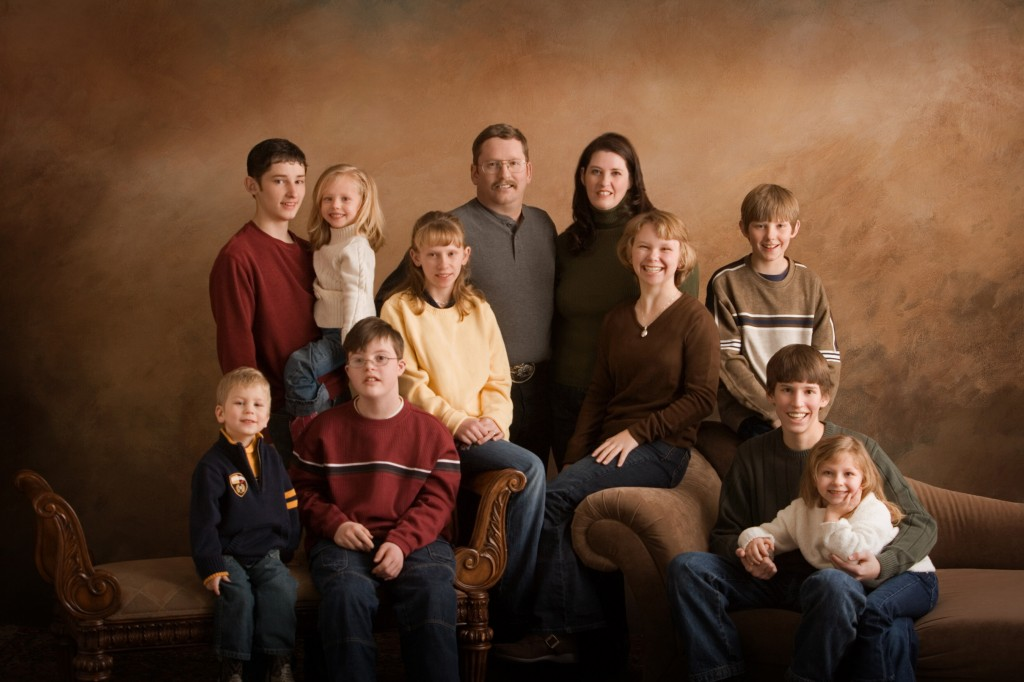 Simmons Family in 2007