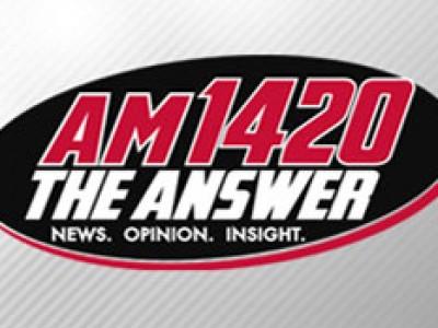 AM1420 The Answer Logo