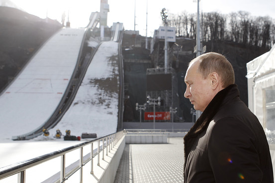 Putin and Ski Jumps