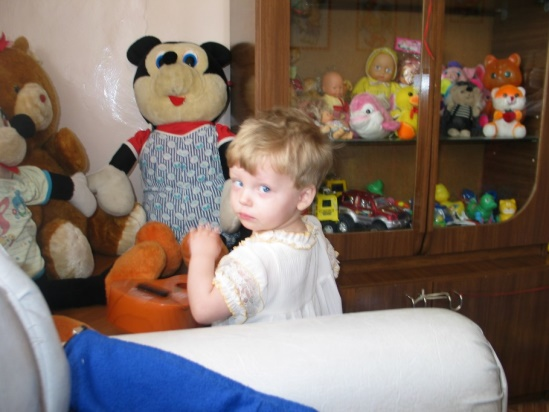 Luba and the toys at her orphanage