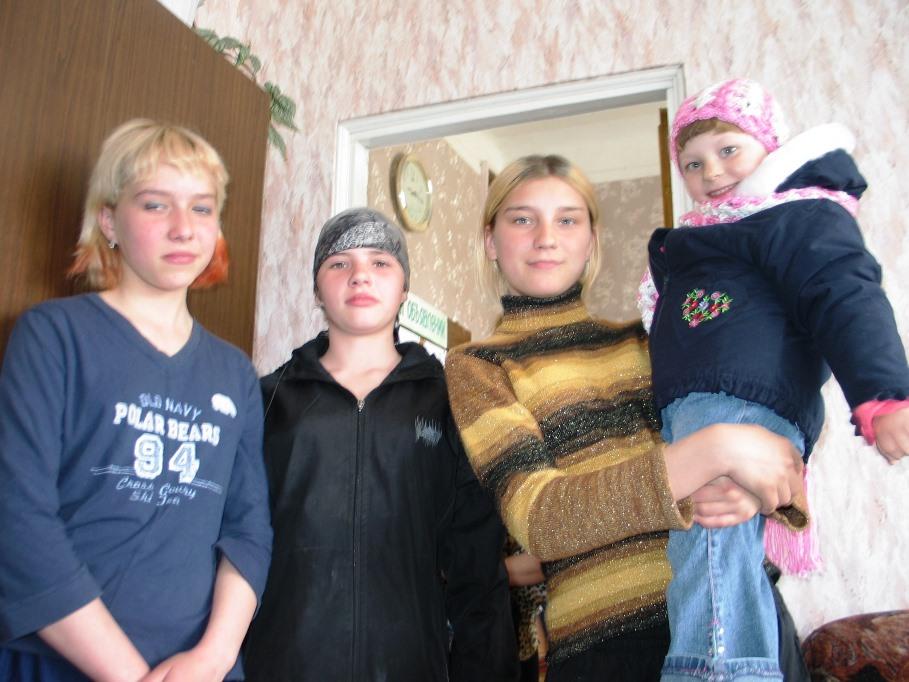 Sarah and Orphaned Teens