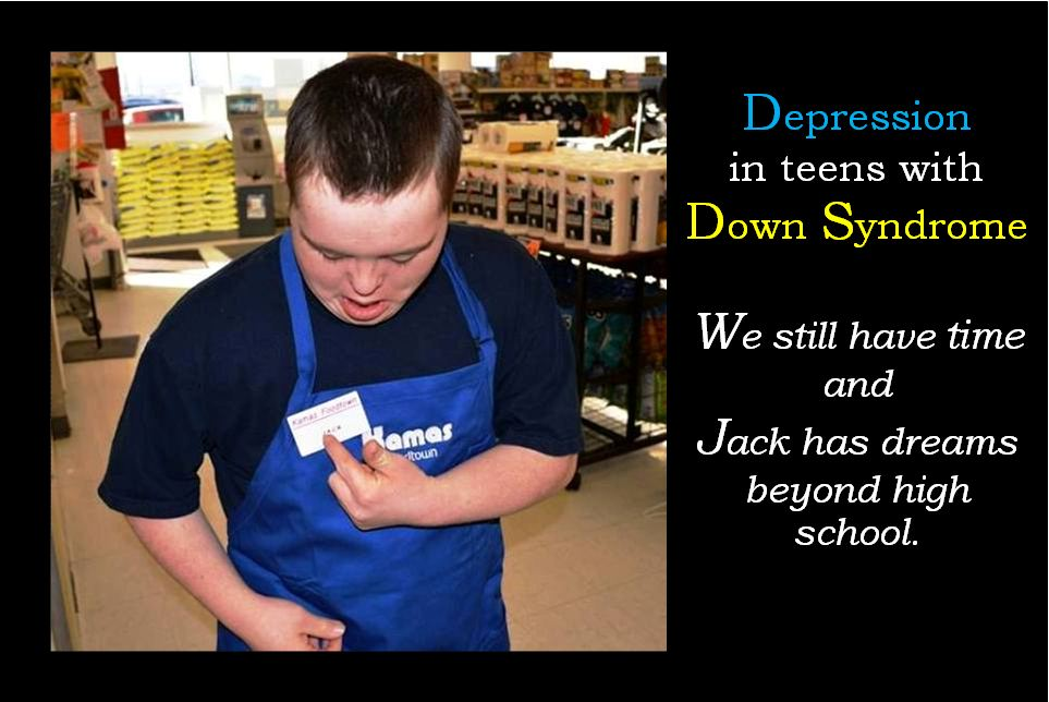 Depression in teens with Down syndrome