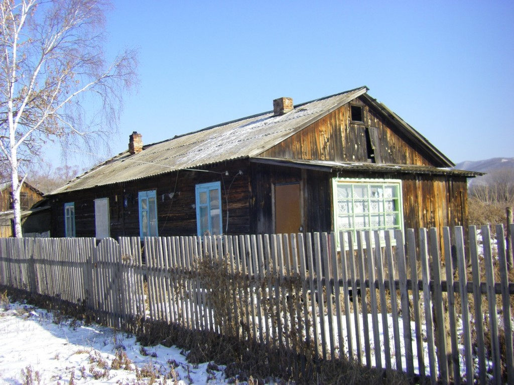 Russian orphans often originate from places like this duplex where Maria Anatolievna Moiseyeva and Vitaly Anatolievich were born.