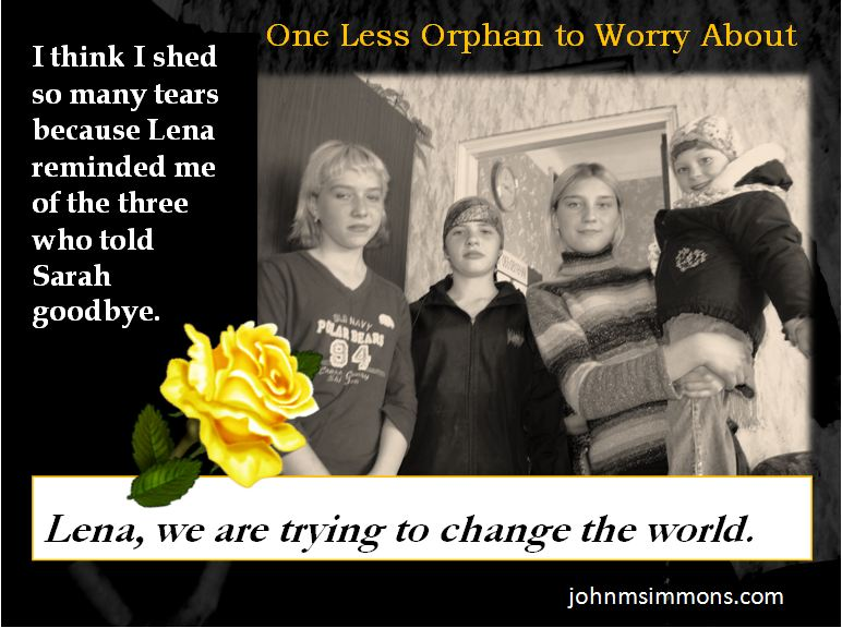 Orphan Advocacy three teens