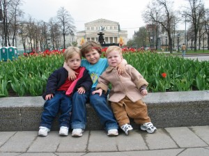 Adopted Kids in Moscow