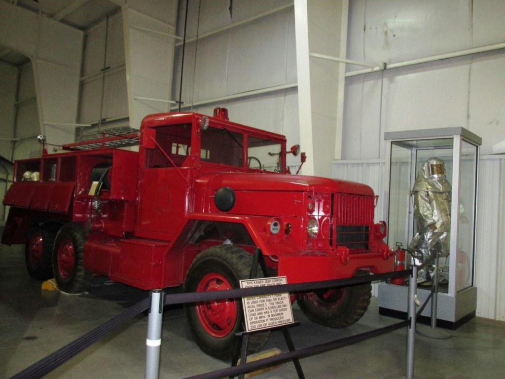 All Terrain Fire Truck