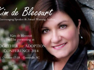 Kim de Blecourt presenting at Together for Adoption 2014