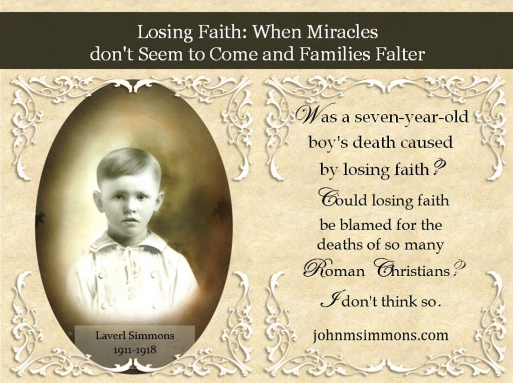 Losing Faith and families faltering