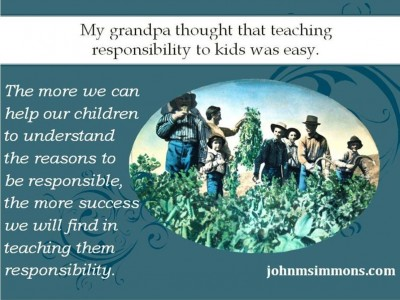 Teaching Kids Responsibility with work