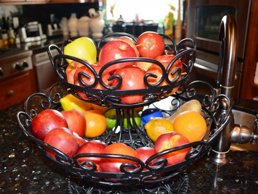 Today I want to tell you about the fruit basket.