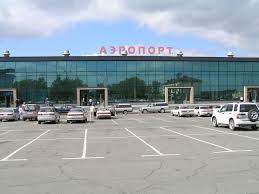 International terminal at the airport in Vladivostok