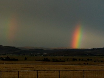 Rainbow in Kamas Utah