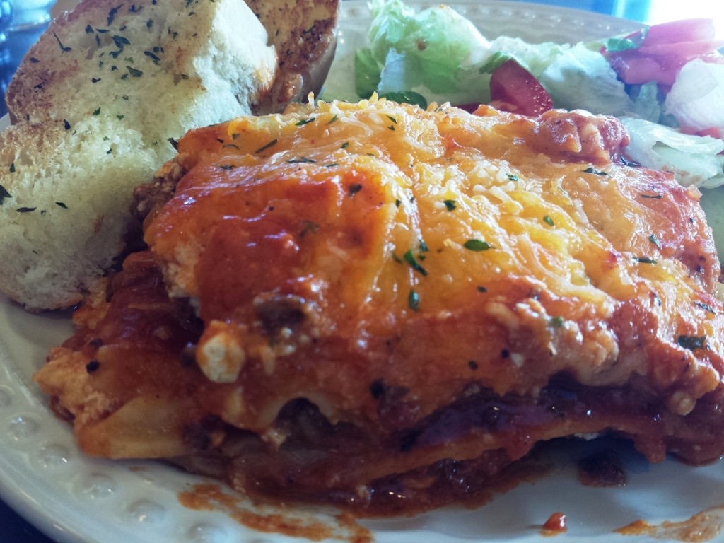 """When John's sister was little, she was asked if she wanted some lasagna.  What she heard was """"Do you want some luz on ya?""""  To which she replied, """"No, I don't  want some luz on me.  I want it on my plate!""""  I hope you enjoy one of our family favorites on your plate."""
