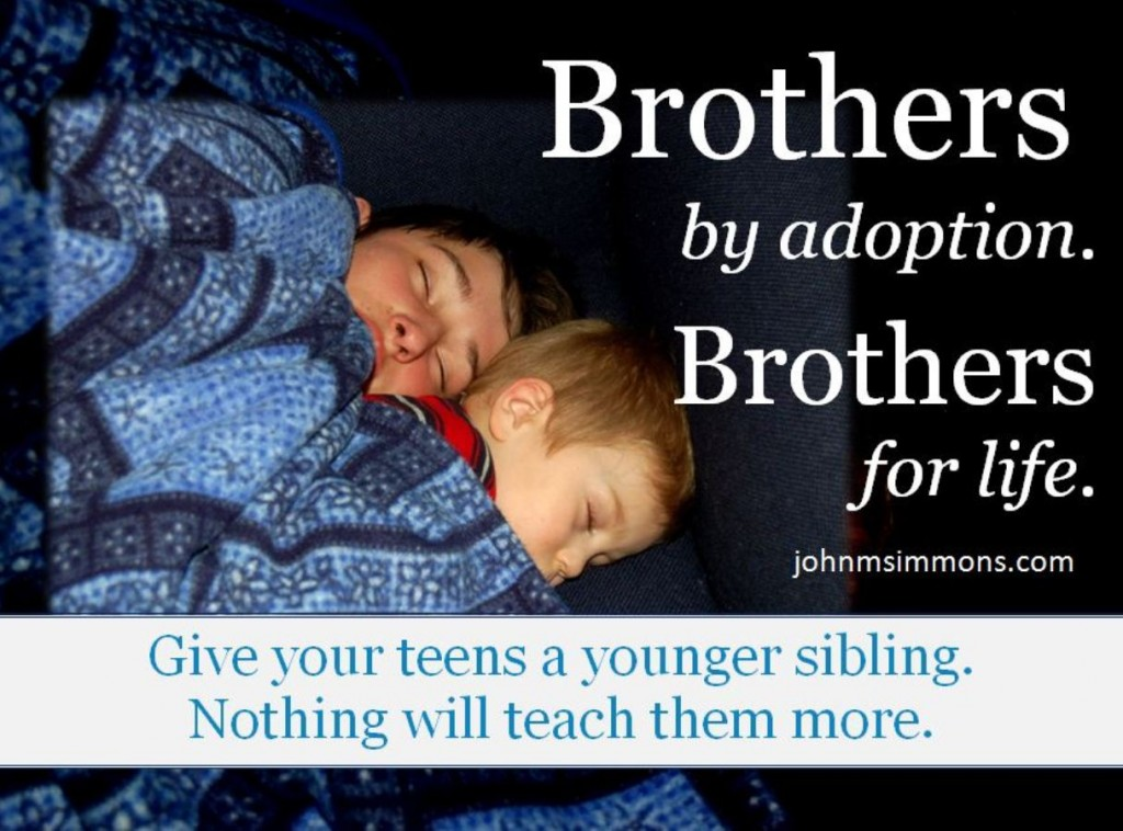 brothers by adoption