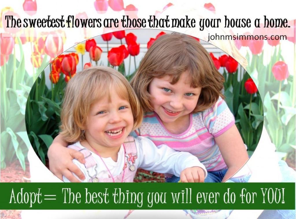 Adoption make house a home