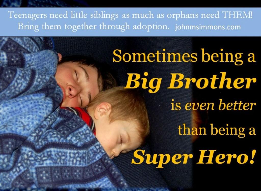 Teens need siblings orphans need homes