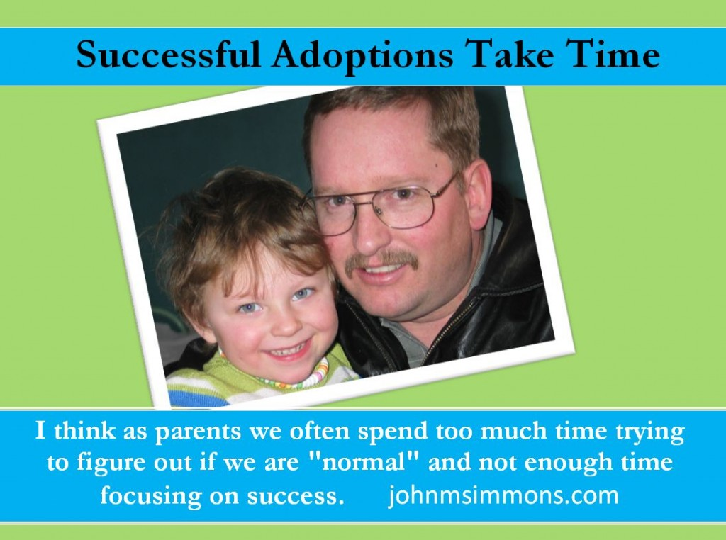 Successful adoptions take time