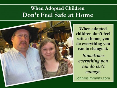 When adopted children don't feel safe at home