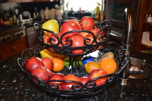 Fruit Basket at Simmons Home