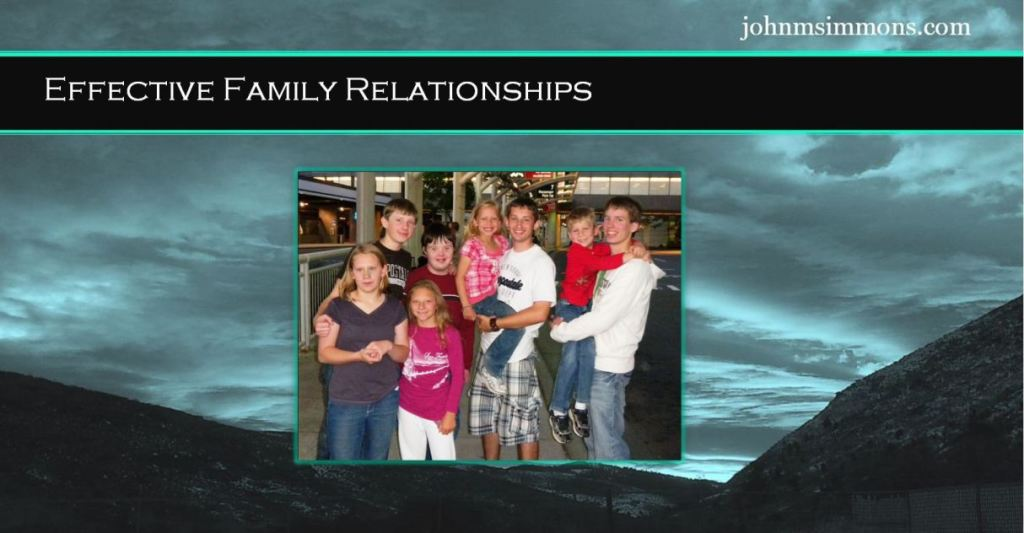 Effective Family Relationships 3