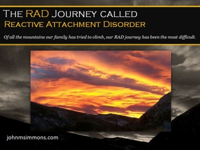 The Rad Journey Reactive Attachment Disorder