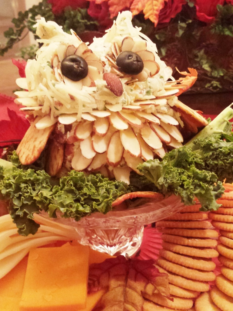 """Owl"" you like to make  Amy's  Jalapeño and Bacon Cheese-Ball?"