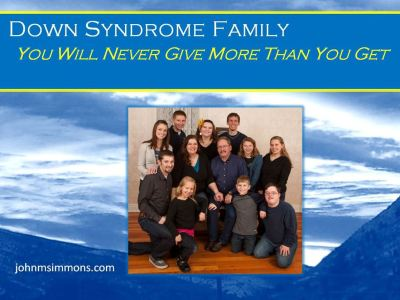 Down Syndrome Family 3