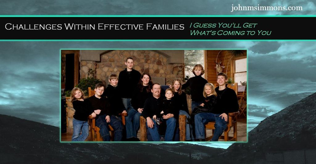 Challenges within effective families