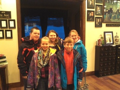 Five Youngest Simmons kids