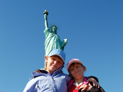 Emily Simmons Statue of Liberty 2