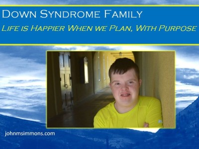 Conscious Down Syndrome Planning 2