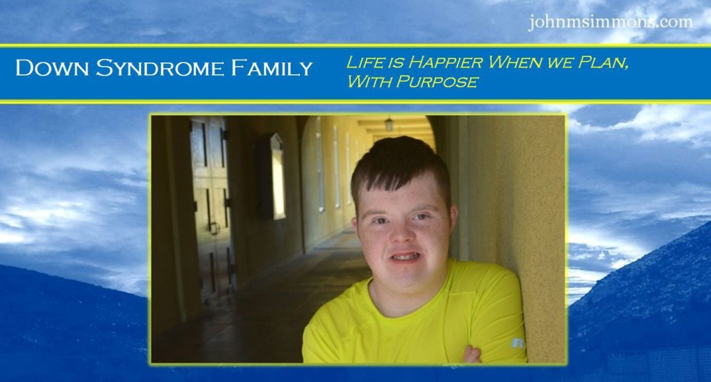 Conscious Down Syndrome Planning