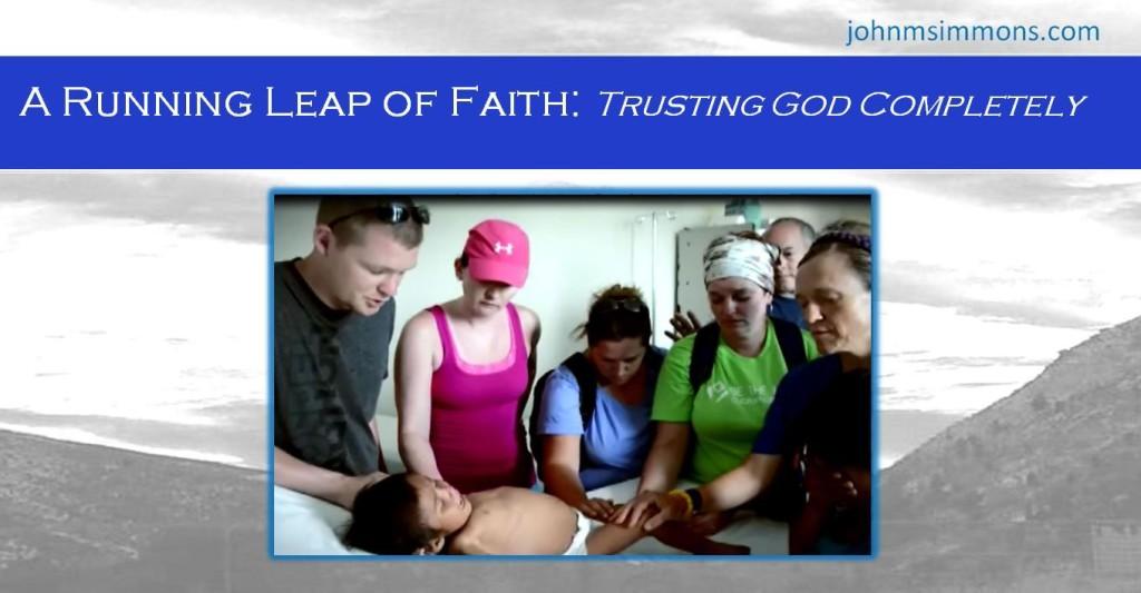 Trusting God Completely
