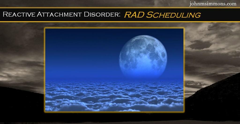 RAD scheduling