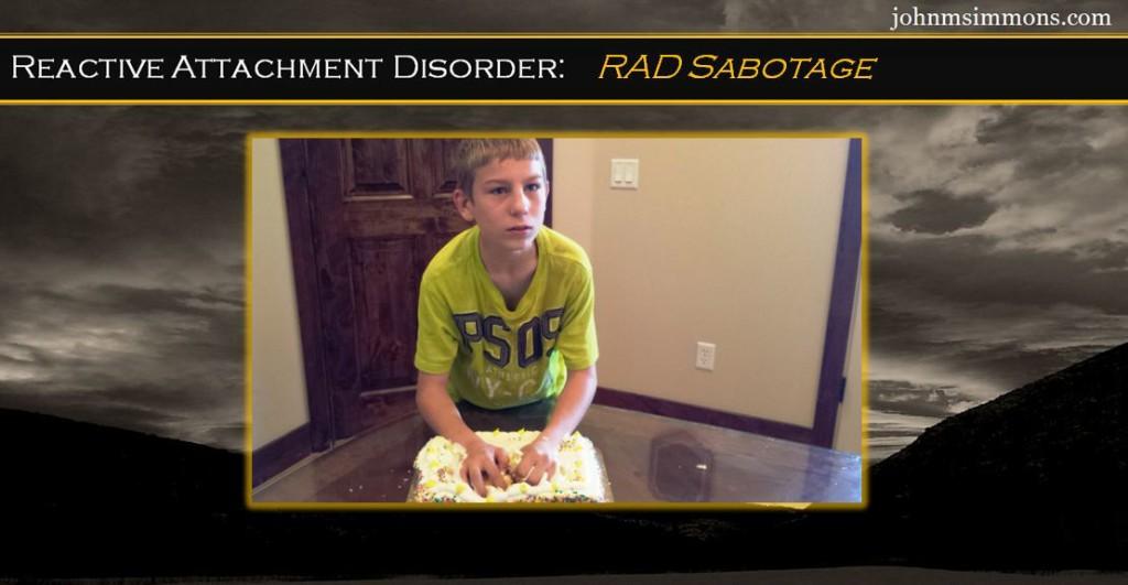 RAD sabotage